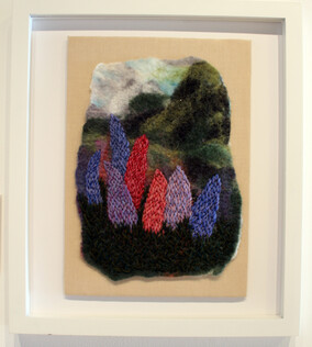 Felicity Willis, 'Landscape with Lupins'