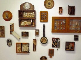 Assemblage art by Dale Copeland