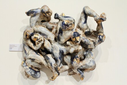 Katerina Smodlyreva, Ship of Fools, Ceramic clay, $3850