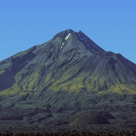 Mount Taranaki Bare, by Rhonda Bunyan. Photograph. $360