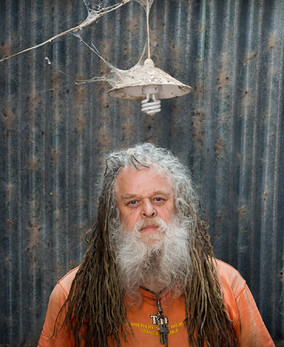 Portrait of man with dreadlocks, Ross, by Tony Carter