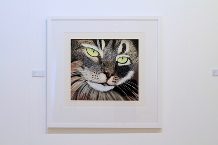 Chris Cockitt, Tiggy, Pastel, $650