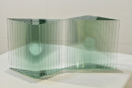 Richard Landers, Complete, Laminated float glass, $625