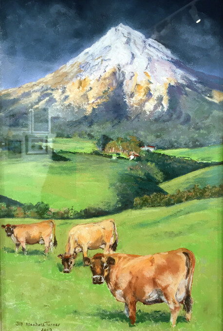 Jersey Herd in Taranaki, by Jill Turner