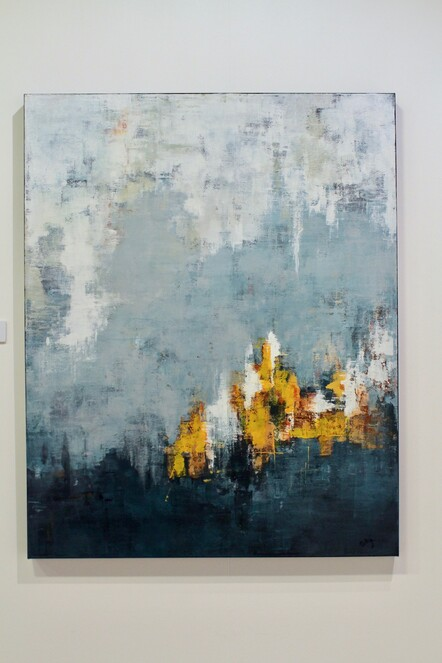 Sally Klenner, After the storm, Acrylic, $600